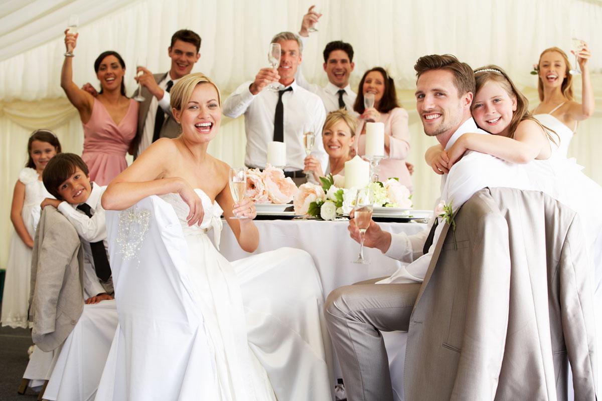 une fête de mariage