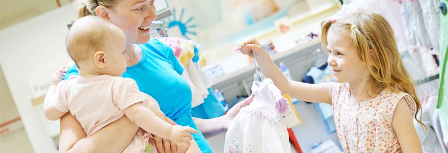 Mode enfantine cérémonie pour sa fille