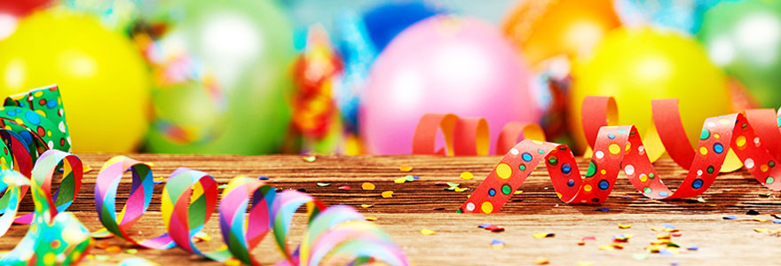 Décoration de fêtes et d'anniversaires